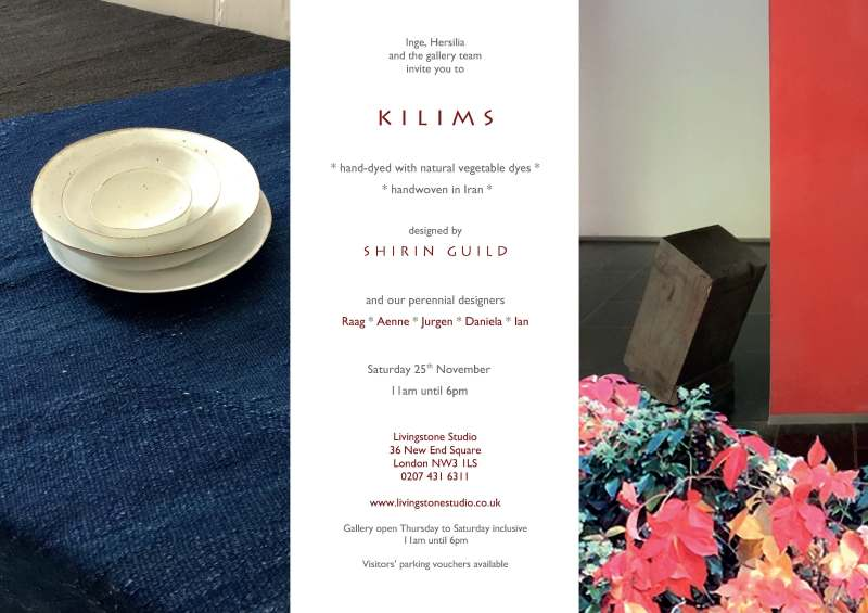 Kilims Shirin Guild An Invitation